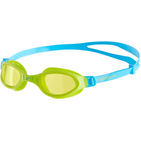 speedo Futura Plus Lunettes de protection Enfant, peppermint/lime